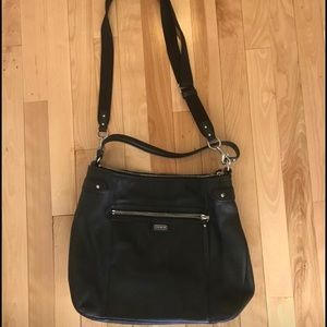 Coach Leather Convertible Shoulder/Crossbody Purse